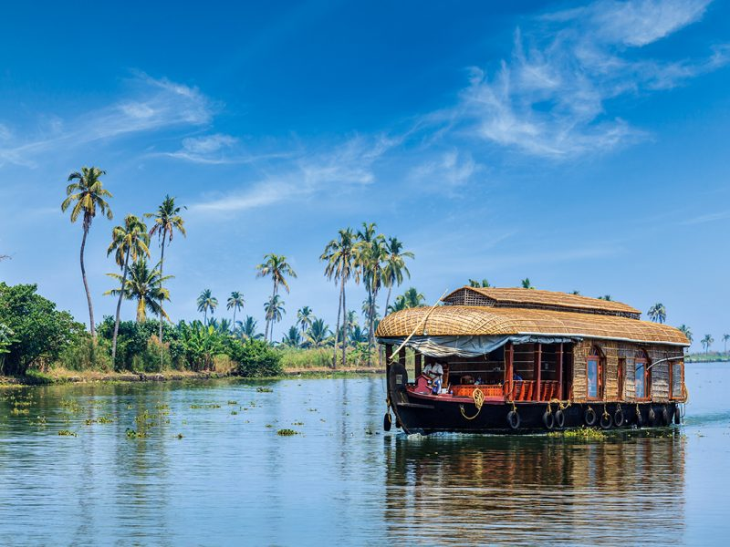 Kerala Backwaters. Kerala India