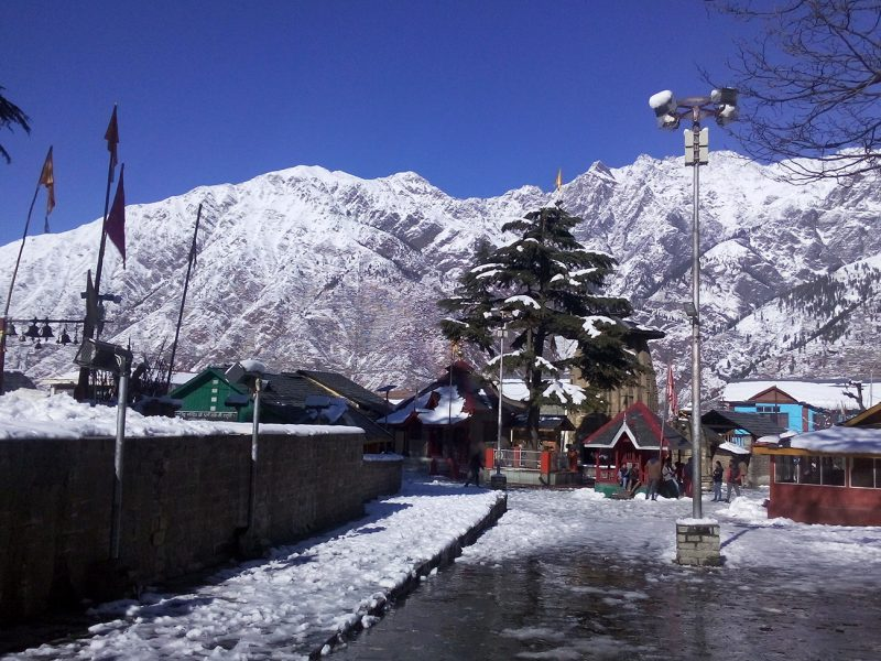 Bharmour Chaurasi Temples In Snow 1600x974
