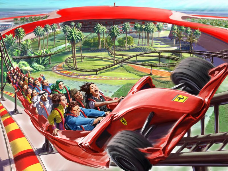 Abu Dhabi City Tour With Ferrari Theme Park Min