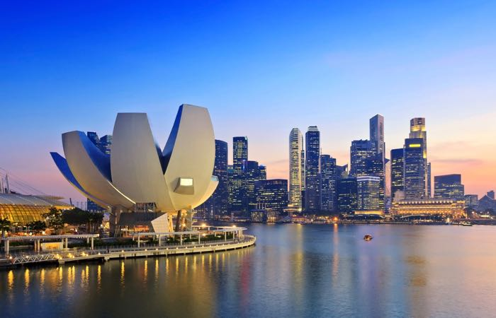 Singapore Attractions Marina Bay
