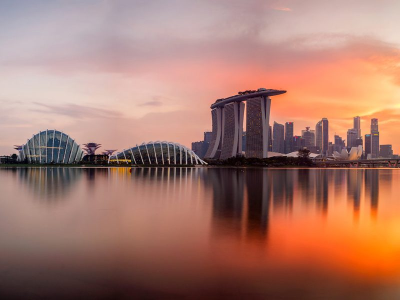 Singapore Skyline Sunset By Southtownboy Gettyimages 680546604 1200x800 100773555 Large