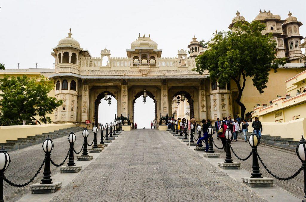 City Palace Entrance Gate Tripolia Gate