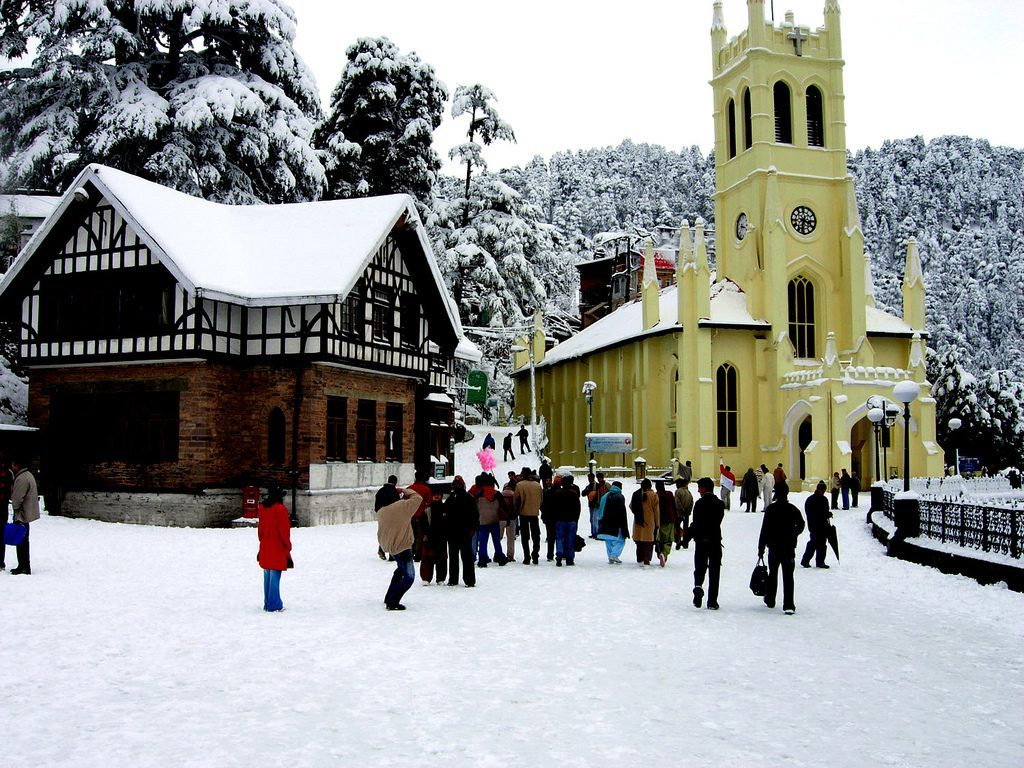 Shimla – A Nature's Paradise 1024x768