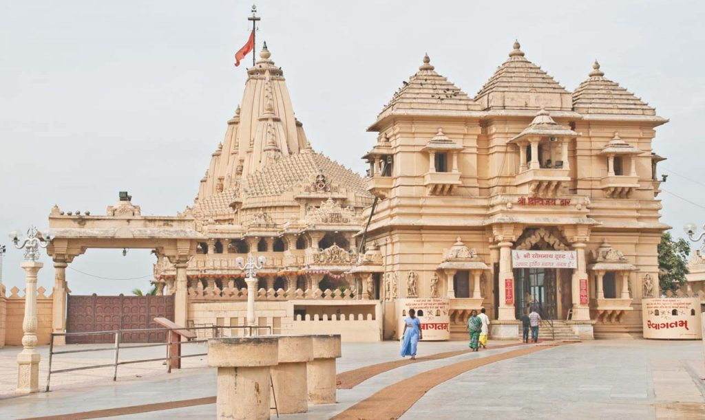 Somnath Temple Close Up